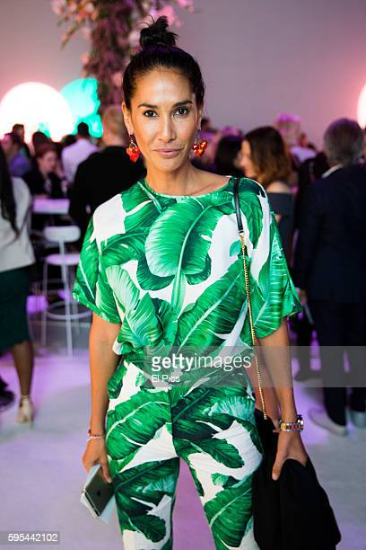 Lindy Klim poses at the party during the Myer Spring 16 Launch at Hordern Pavilion on August 23 2016 in Sydney Australia