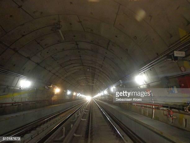 Line 5 Metro tunnel, Milan, Italy
