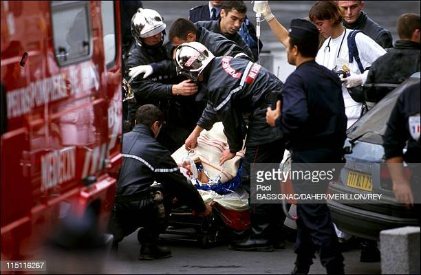 'Line C' attack of the RER in Paris France on October 17 1995 Attack victims