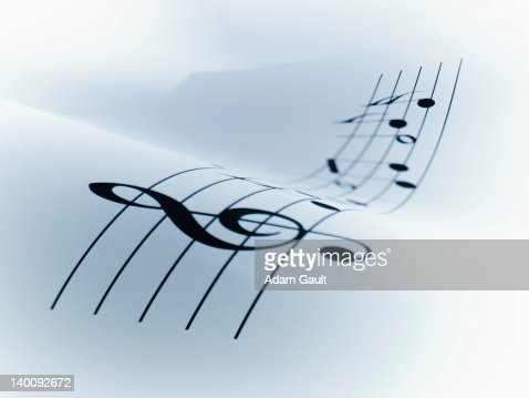Line of music : Foto de stock