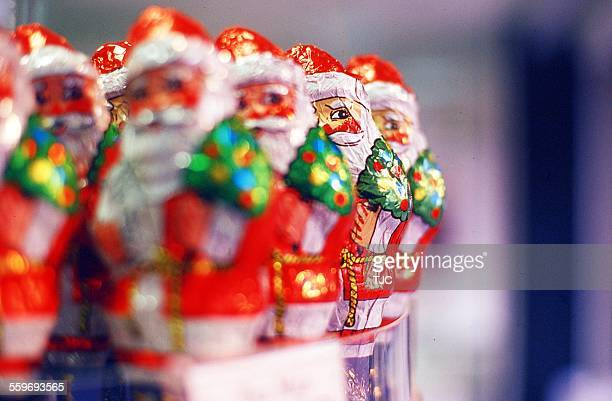 Line of Santa Candies