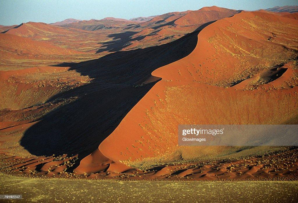 Linear dune in the Namib Desert, Namibia : Foto de stock