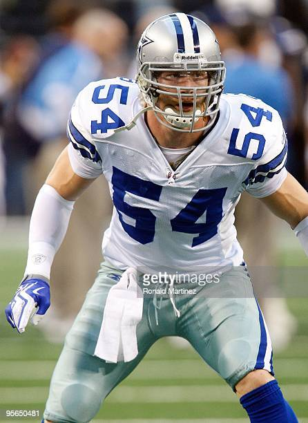 Linebacker Bobby Carpenter of the Dallas Cowboys at Cowboys Stadium on December 13 2009 in Arlington Texas