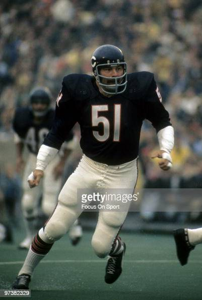 Chicago bears linebacker dick butkis