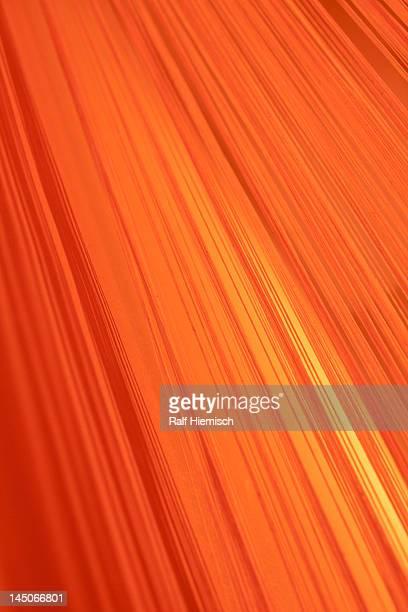 Lined gradient of orange