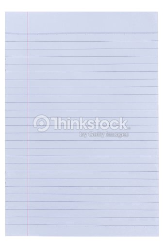 Lined Paper Background Stock Photo Thinkstock