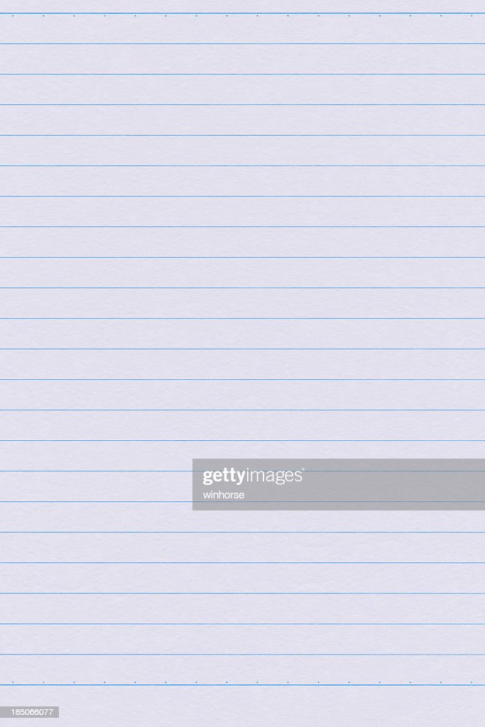 Lined Paper Stock Photo  Getty Images