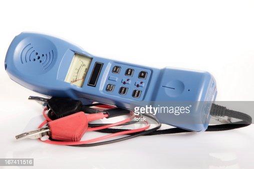 Lineman's handset tester : Stockfoto