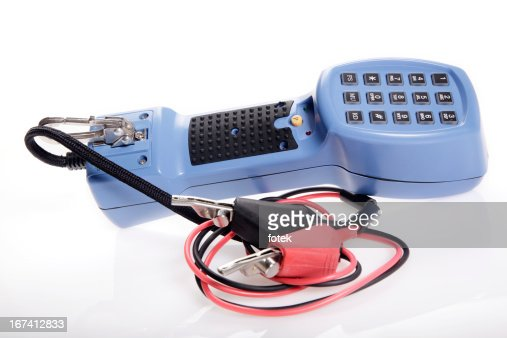 Lineman's handset tester : Stock Photo