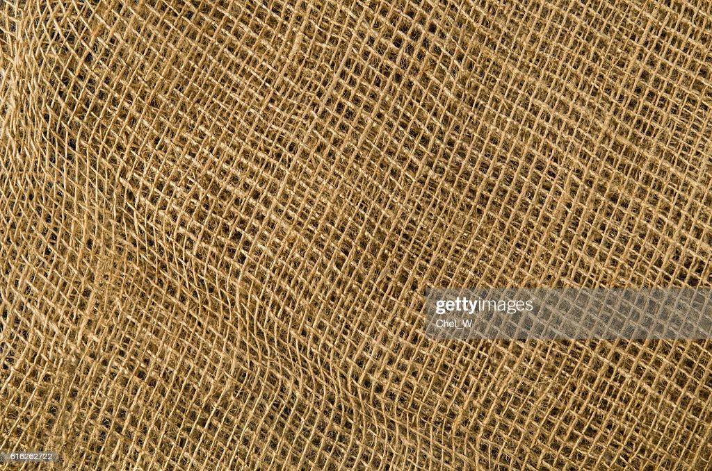 Linen fabric background. Visible texture : Foto de stock