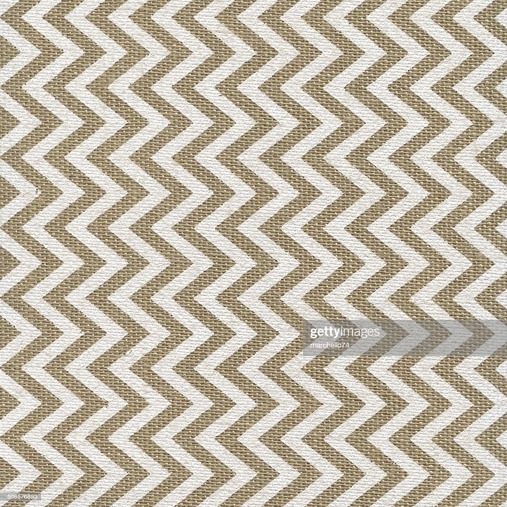 Linen texture with white painted pattern : Stockfoto