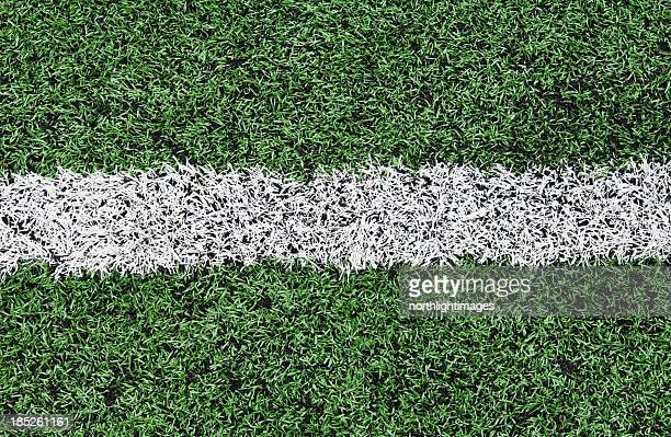Lines on astro turf pitch