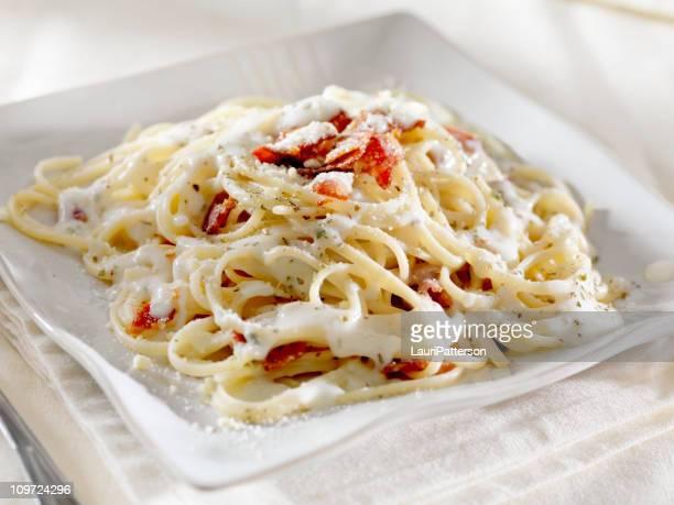 Linguini à la Carbonara