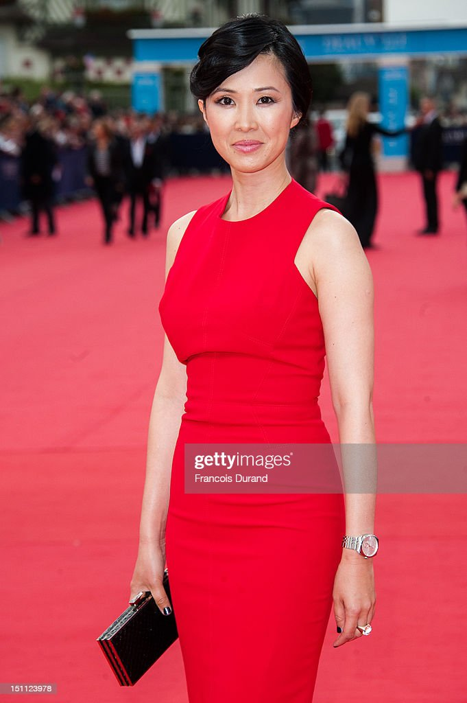 Linh Dan Pham arrives for the premiere of the film 'The Bourne Legacy' during 38th Deauville American Film Festival on September 1, 2012 in Deauville, France.
