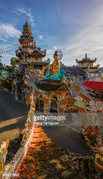 Linh Phuoc Ceramic pagoda, Dalat, Vietnam