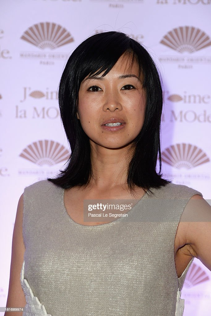 Linh-Dan Pham attends the 'J'Aime La Mode' Cocktail Event Hosted by Chef Thierry Marx at Hotel Mandarin Oriental on September 23, 2013 in Paris, France.