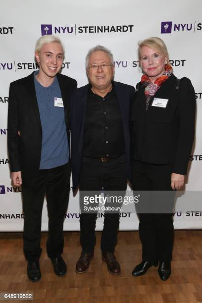 Link Lipsitz Alan Menken and Marcie Kirkpatrick attend NYU Steinhardt Music and Performing Arts Presents Songwriters Hall of Fame Master Sessions @...