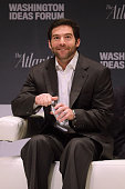 LinkedIn CEO Jeff Weiner participates in a questionandanswer interview during the seventh annual Washington Ideas Forum at the Harman Center for the...