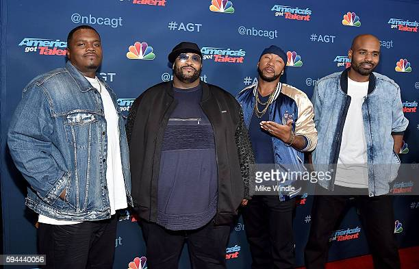 Linkin' Bridge attends the 'America's Got Talent' Season 11 Live Show at Dolby Theatre on August 23 2016 in Hollywood California