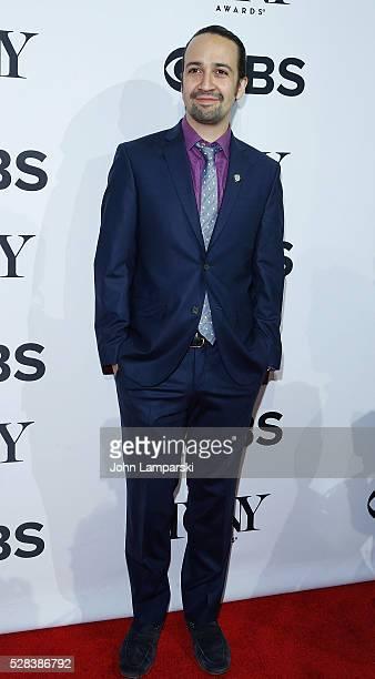 LinManuel Miranda attends 2016 Tony Awards Meet The Nominees Press Junket at Diamond Horseshoe at the Paramount Hotel on May 4 2016 in New York City
