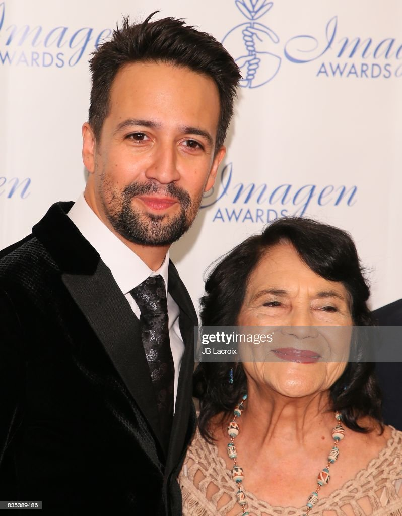 Lin-Manuel Miranda attends the 32nd annual Imagen Awards on August 18, 2017 in Los Angeles, California.
