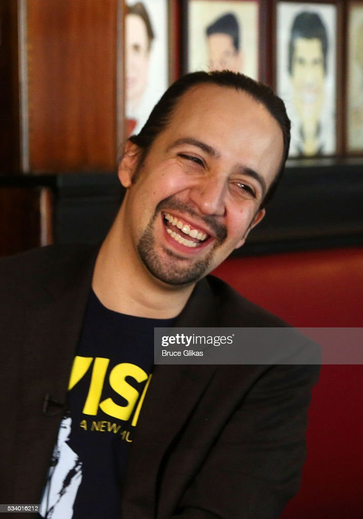 <a gi-track='captionPersonalityLinkClicked' href=/galleries/search?phrase=Lin-Manuel+Miranda&family=editorial&specificpeople=4190598 ng-click='$event.stopPropagation()'>Lin-Manuel Miranda</a> is honored for his work in 'Hamilton' with a Sardi's Caricature at Sardi's on May 24, 2016 in New York City.