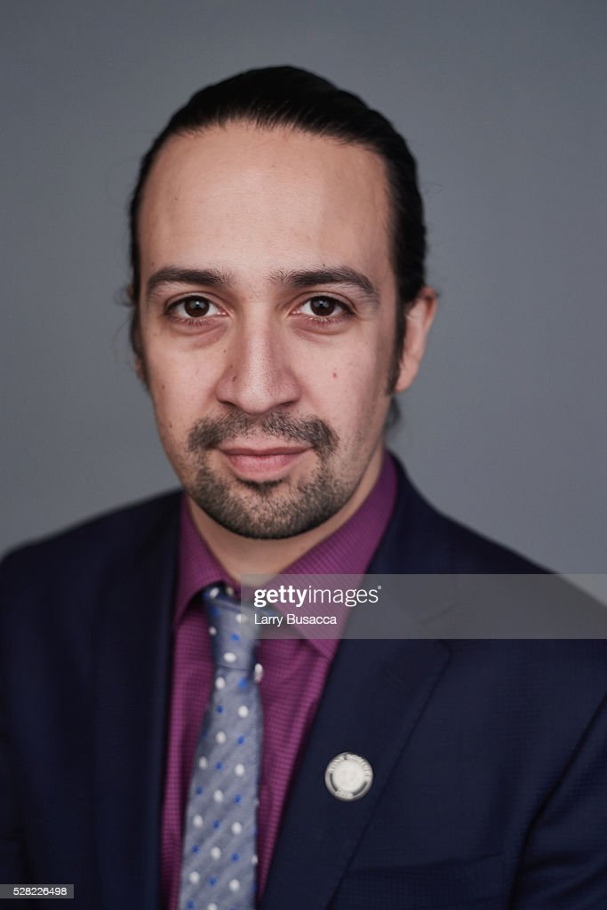 <a gi-track='captionPersonalityLinkClicked' href=/galleries/search?phrase=Lin-Manuel+Miranda&family=editorial&specificpeople=4190598 ng-click='$event.stopPropagation()'>Lin-Manuel Miranda</a> poses for a portrait at the 2016 Tony Awards Meet The Nominees Press Reception on May 4, 2016 in New York City.
