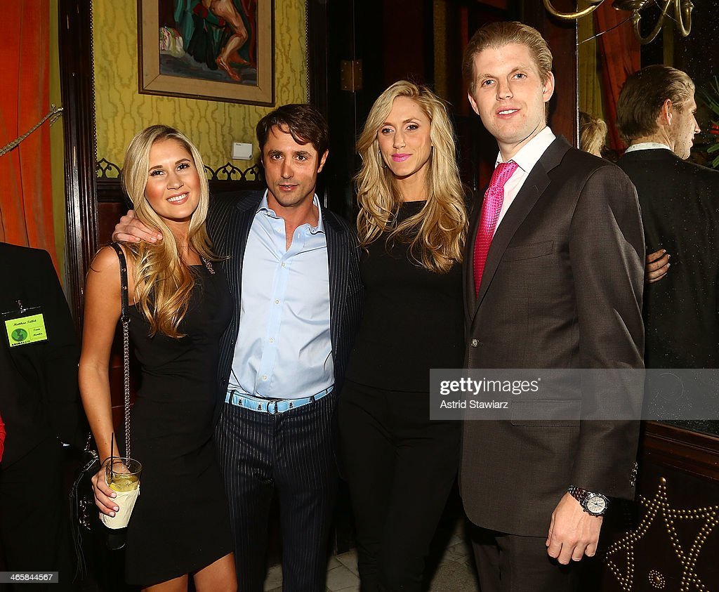 Linnea Sensenbaugh, Prince Lorenzo Borghese, Lara Yunaska and Eric Trump attend the 2014 Animal USA Event at The Jane Hotel on January 29, 2014 in New York City.