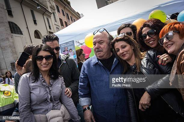 Lino Banfi historical UNICEF ambassador Piazza del Popolo Unicef's Orchid awareness initiative and fund raising child protection programs