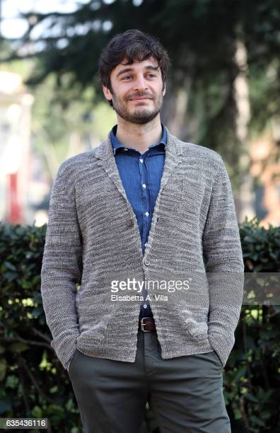 Lino Guanciale attends a photocall for 'La Porta Rossa' fiction Rai at Villa Borghese on February 15 2017 in Rome Italy