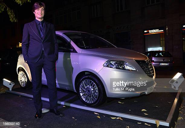 Lino Guanciale attends 'La Scoperta dell'Alba' party on November 10 2012 in Rome Italy