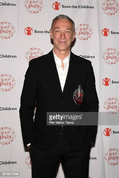 Linus attends Save The Children Charity Party on November 15 2017 in Milan Italy