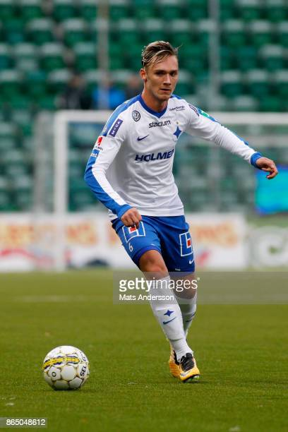Linus Wahlqvist of IFK Norrkoping during the Allsvenskan match between GIF Sundsvall and IFK Norrkoping at Idrottsparken on October 22 2017 in...