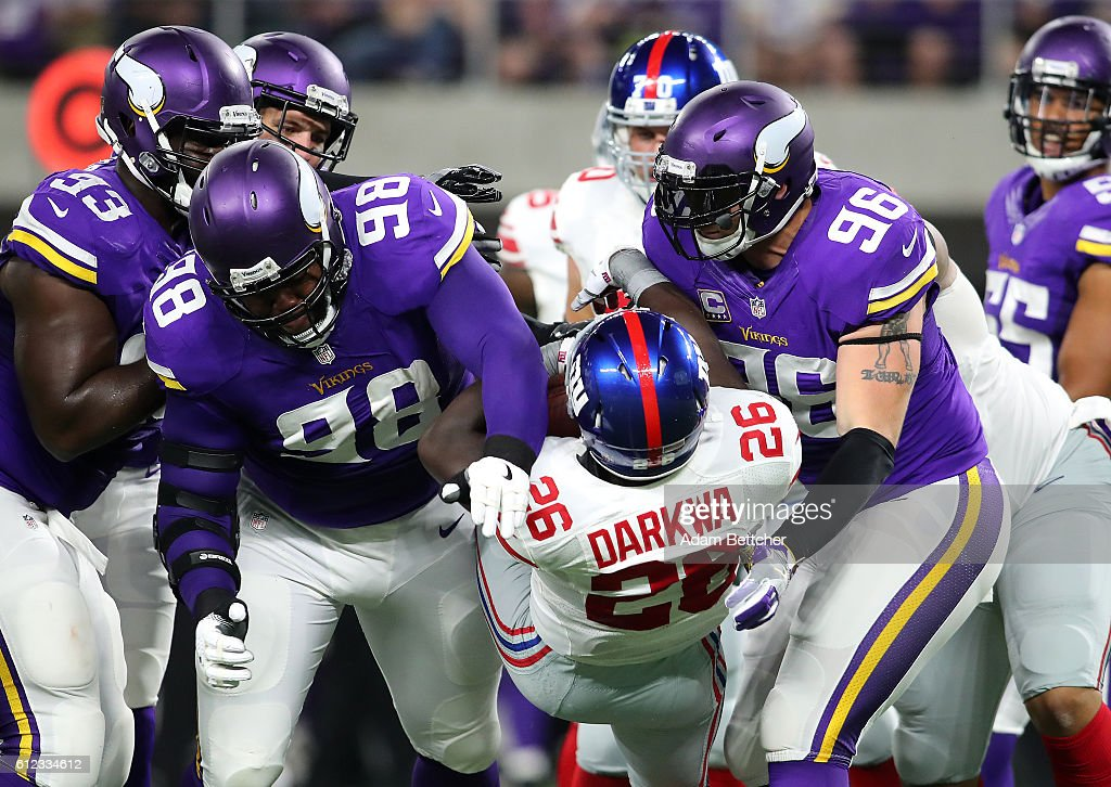New York Giants v Minnesota Vikings
