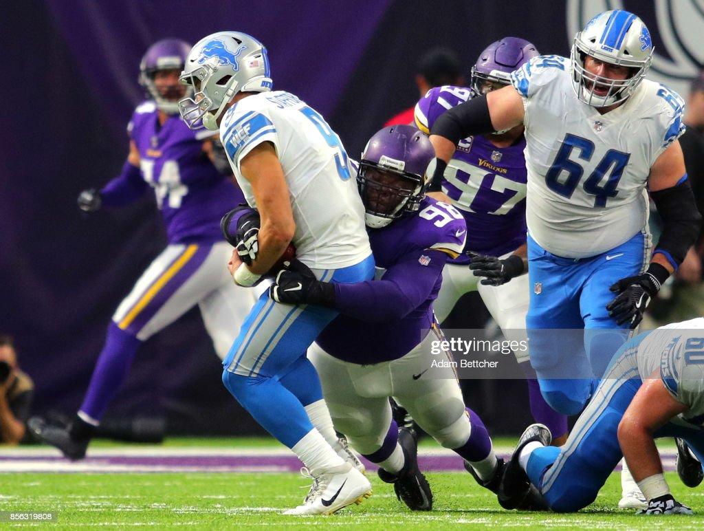 Detroit Lions v Minnesota Vikings s and