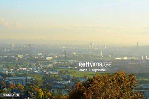Linz, capital of Upper Austria : Stock Photo
