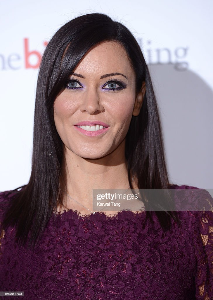 Linzi Stoppard attends a special screening of 'The Big Wedding' at May Fair Hotel on May 23, 2013 in London, England.