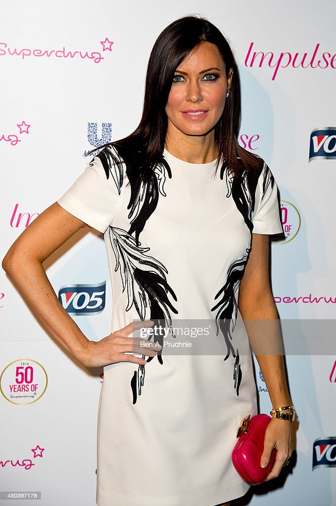 Linzi Stoppard attends Superdrug's 50th anniversary party at The Bankside Vaults on June 10, 2014 in London, England.
