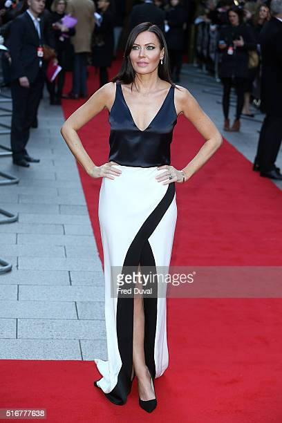 Linzi Stoppard attends the Jameson Empire Film Awards at Grosvenor House on March 20 2016 in London England