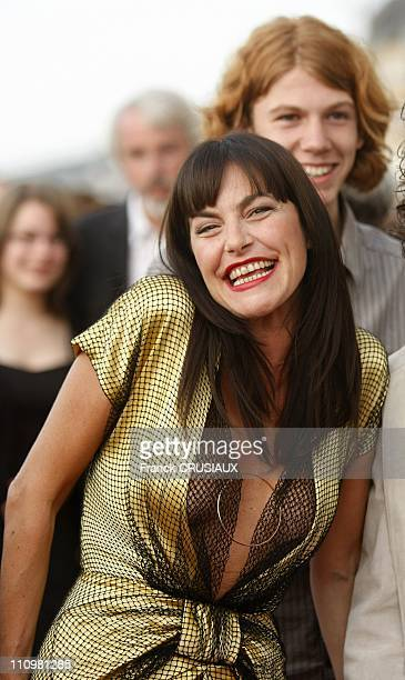 Lio at the 22th Cabourg Film Festival in Cabourg France on June 14th 2008