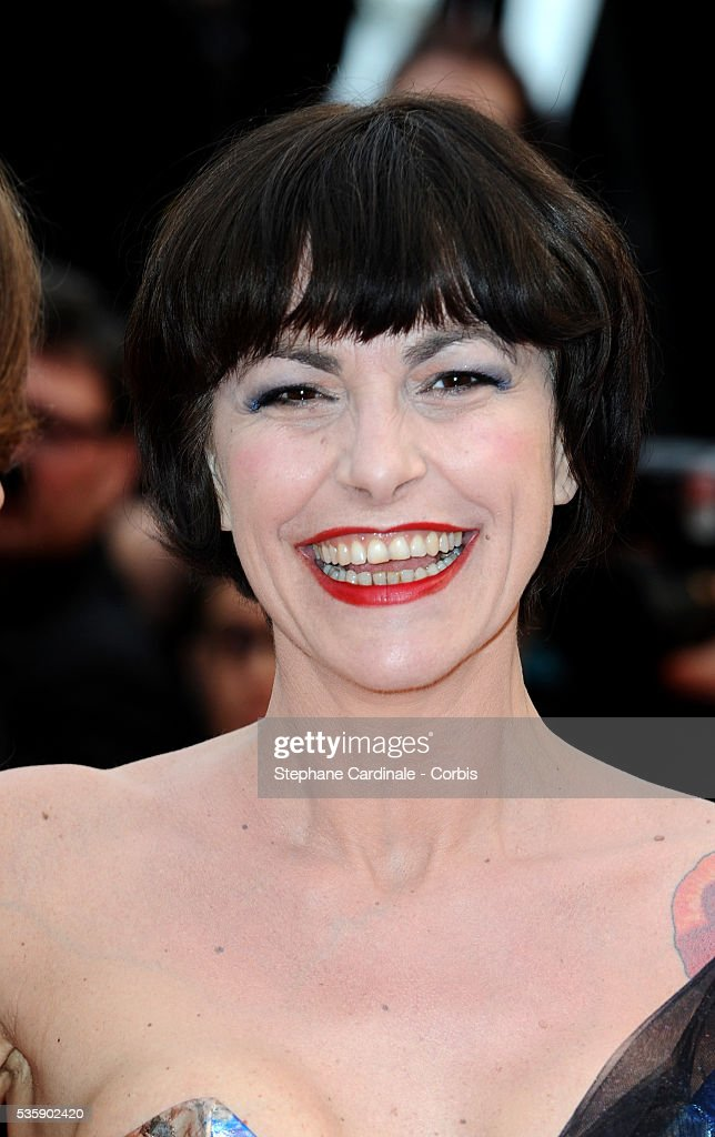 Lio at the Premiere for 'You will meet a tall dark stranger' during the 63rd Cannes International Film Festival.