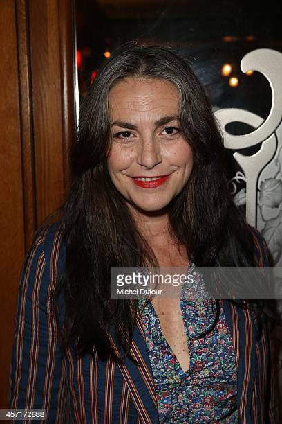 Lio attends the Nathalie Garcon Cocktail Party In Paris on October 13 2014 in Paris France