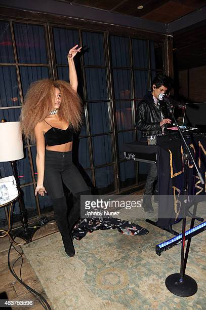 Lion Babe performs at Soho House on February 17 2015 in New York City