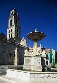 Lion Fountain Plaza de San Francisco de Asis Old Havana Havana Cuba
