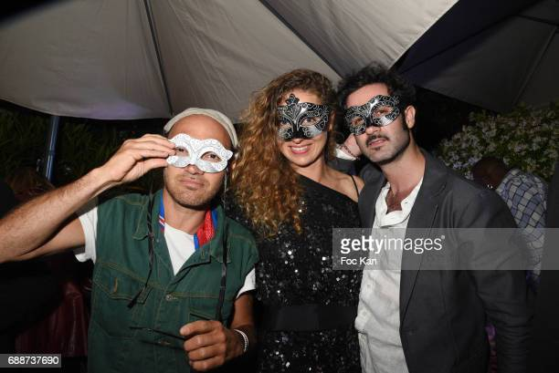 Lionel Bensemoun from Le Baron Loca SG from L Ame and Dorion attend the L'Ame Party at 52 Rue D'Antibes during the 70th annual Cannes Film Festival...