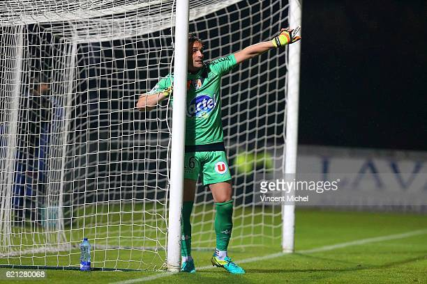 Lionel Cappone of Laval during the Ligue 2 match between Stade Lavallois and Le Havre AC on November 4 2016 in Laval France