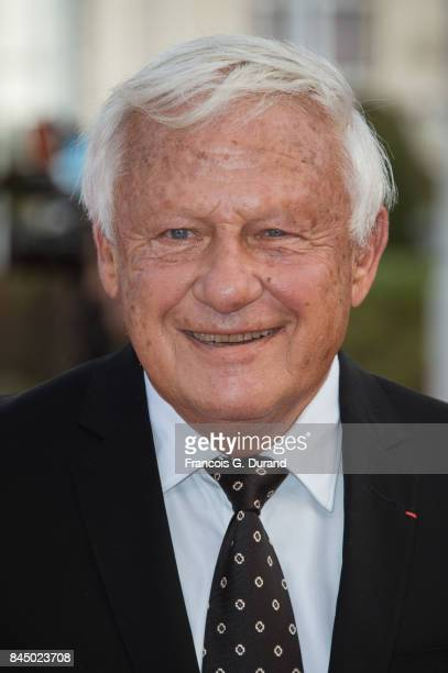 Lionel Chouchan arrives at the closing ceremony of the 43rd Deauville American Film Festival on September 9 2017 in Deauville France