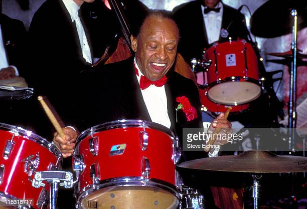 Lionel Hampton during Naomi Campbell Hosts 85th Birthday Party for Lionel Hampton at Club USA in New York City New York United States