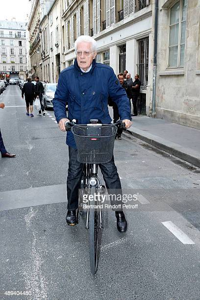 Lionel Jospin attends the Marek Halter Celebrates Rosh Hashanah In Paris on September 20 2015 in Paris France