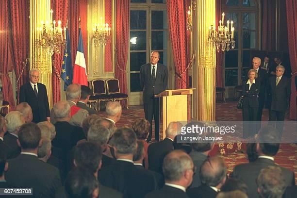 Lionel Jospin Jacques Chirac Elisabeth Guigou Louis Le Pensec JeanPierre Chevenement